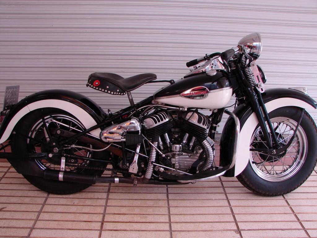 Harley-Davidson WL45 de 1939